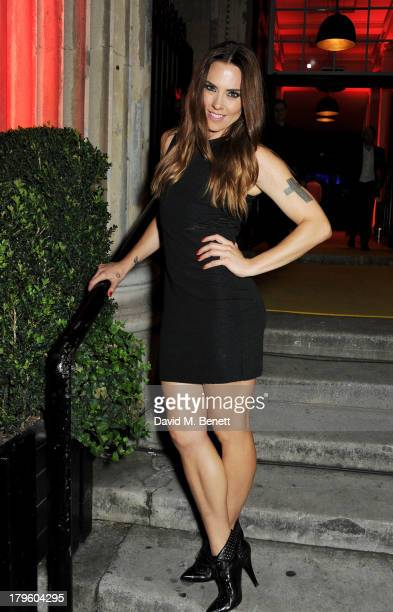 Mel C attends the Queen AIDS Benefit in support of The Mercury Phoenix Trust at One Mayfair on September 5 2013 in London England