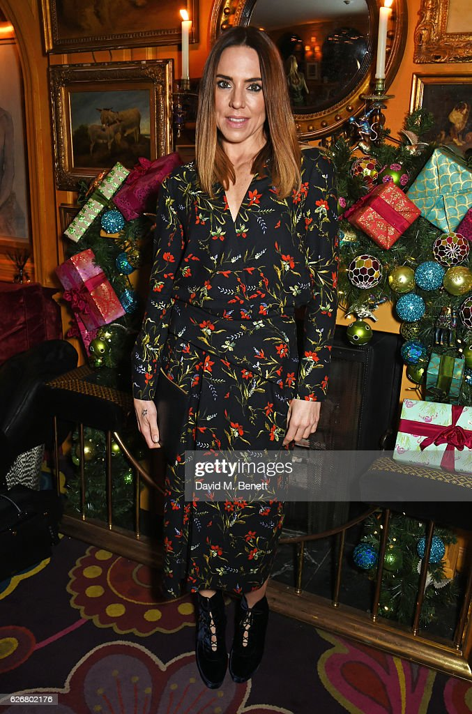 Mel C attends the Sunday Times Style Christmas Party at Annabel's on November 30, 2016 in London, England.