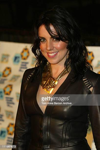 Mel C during 2002 MTV European Music Awards Arrivals at Palau Sant Jordi in Barcelona Spain