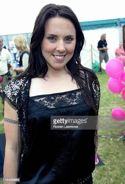 Mel C during 963 Radio Aire's 'Party in the Park' Backstage and Show at Temple Newsam in Leeds Great Britain