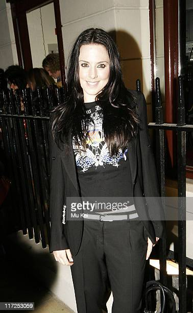 Mel C during Jezebell London Store Launch Party at Jezebell 59 Blandford Street in London Great Britain