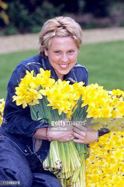 Mel C during Mel C - Marie Currie Daffodil Day - March 1, 2000 in London, Great Britain.