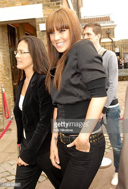 Mel C from The Spice Girls during The Spice Girls Photocall Arrivals and Depatures at Royal Observatory in London Great Britain