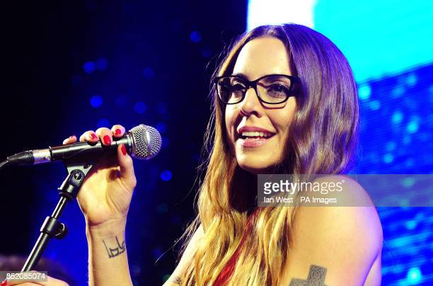 Mel C performs at the Specsavers Spectacle Wearer of the Year Awards held at the Royal Opera House in London