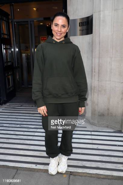Mel C seen at BBC Radio 2 on November 29, 2019 in London, England.