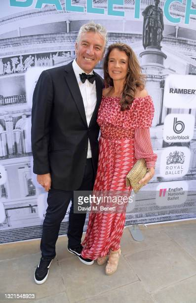Mel Coleman and Annabel Croft attend the inaugural British Ballet Charity Gala presented by Dame Darcey Bussell at The Royal Albert Hall on June 03,...