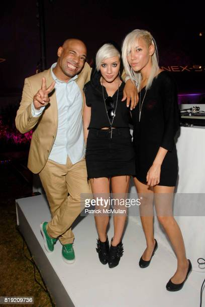 DJ Mel Debarge Amanda Leigh Dunn and Jane Bang attend 11th Annual Love Heals at Luna Farm 'A Picture Perfect Summer' Presented by Sony NEX Cameras at...