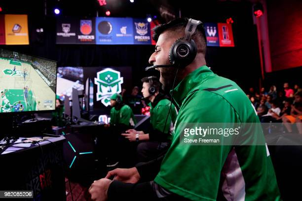 ProFusion of Celtics Crossover Gaming plays against Grizz Gaming on June 23 2018 at the NBA 2K League Studio Powered by Intel in Long Island City New...
