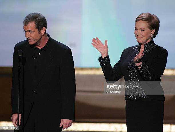 Mel Gibson and Julie Andrews introduce the Lifetime Achievement Award honoring James Garner 8506_js7_20jpg