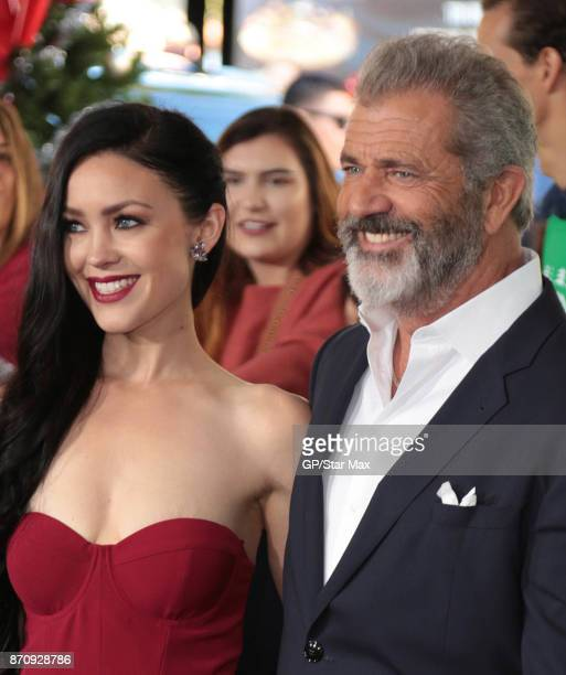 Mel Gibson and Rosalind Ross are seen on November 5 2017 in Los Angeles CA