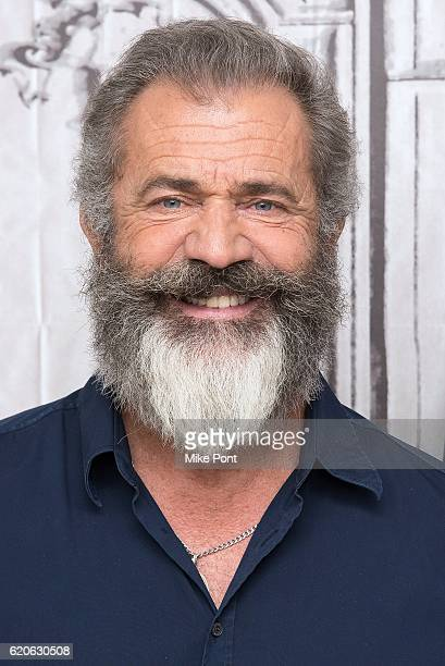 Mel Gibson attends the Build Series to discuss 'Hacksaw Ridge' at AOL HQ on November 2 2016 in New York City