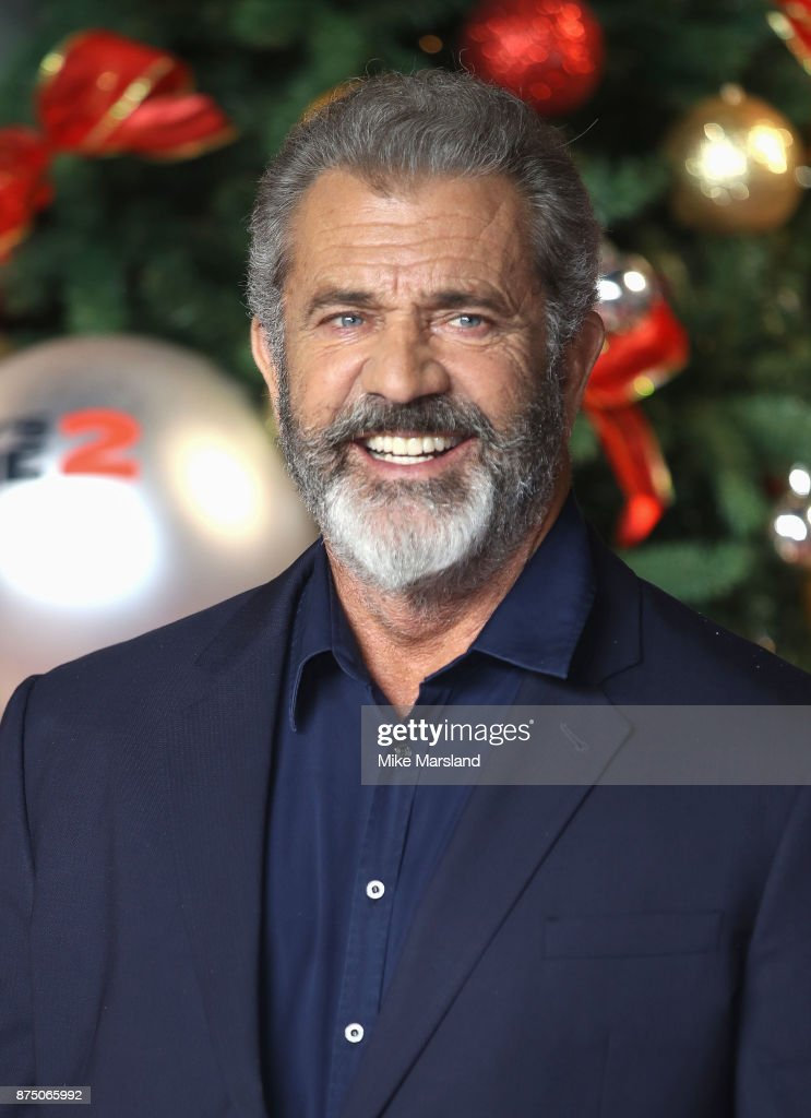 Mel Gibson attends the UK Premiere of 'Daddy's Home 2' at Vue West End on November 16, 2017 in London, England.