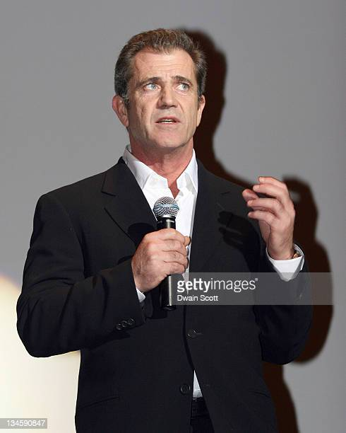 Mel Gibson during 'Apocalypto' Oklahoma City Screening in Oklahoma City Oklahoma United States