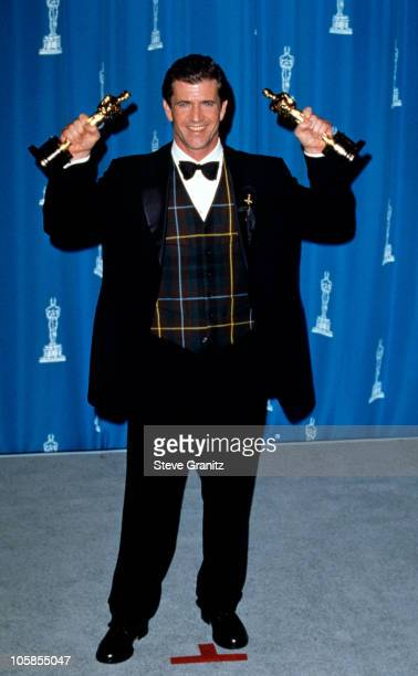 Mel Gibson during The 68th Annual Academy Awards at Dorothy Chandler Pavilion in Los Angeles California United States