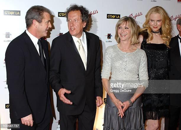 Mel Gibson Geoffrey Rush Olivia NewtonJohn and Nicole Kidman
