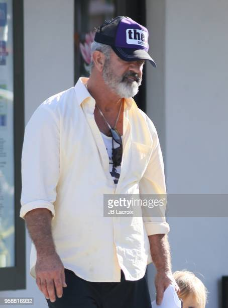 Mel Gibson is seen on May 14 2018 in Malibu California