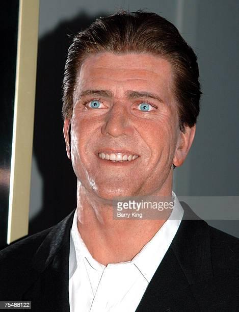 Mel Gibson waxwork at Madame Tussaud's in London, England at the Madame Tussauds in London, United Kingdom.