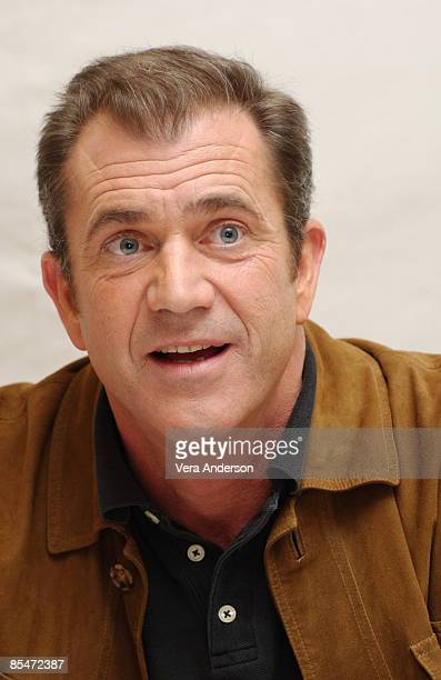 Mel Gibson writer/director during 'The Passion of the Christ' Press Conference on February 11 2004 at the Four Seasons Hotel in Beverly Hills...