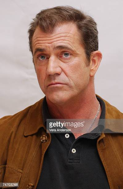 Mel Gibson Writer/Director during The Passion of the Christ Press Conference with Mel Gibson Jim Caviezel and Maia Morgenstern at the Four Seasons...