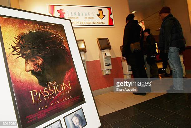 Mel Gibson's 'The Passion of the Christ' opens at the Regal Cinemas 14 February 24 2004 in New York City