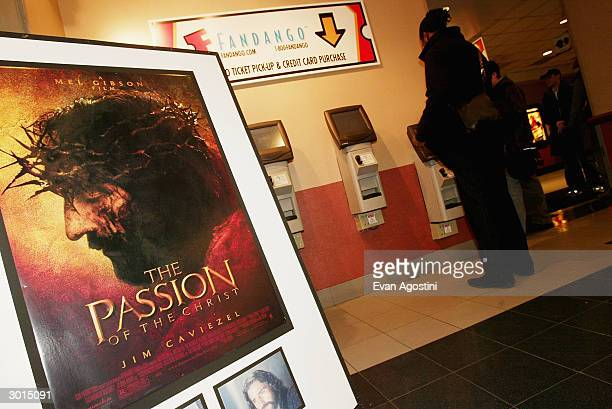 Mel Gibson's The Passion of the Christ opens at the Regal Cinemas 14 February 24 2004 in New York City