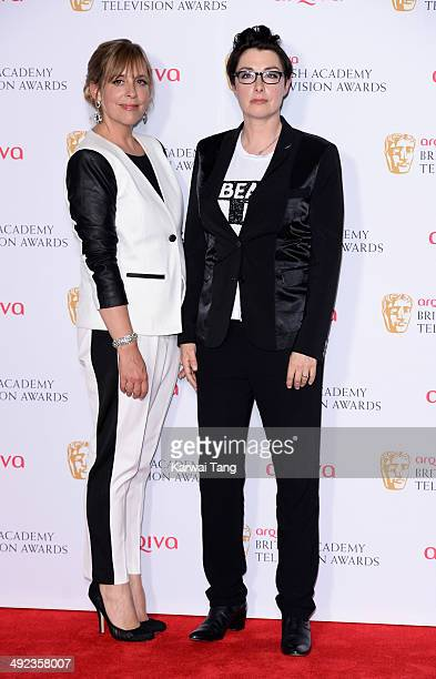 Mel Giedroyc and Sue Perkins attend the Arqiva British Academy Television Awards held at the Theatre Royal on May 18 2014 in London England