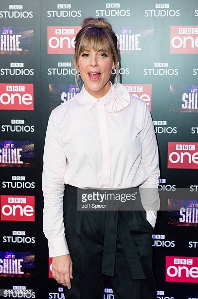 Mel Giedroyc attends the launch of the new BBC One show 'Let It Shine' at Ham Yard Hotel on December 13 2016 in London England