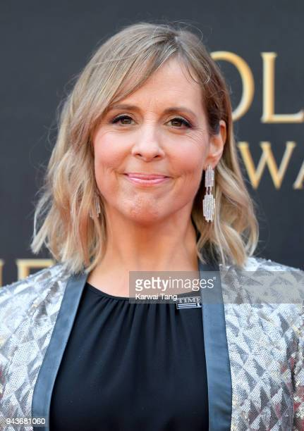 Mel Giedroyc attends The Olivier Awards with Mastercard at Royal Albert Hall on April 8 2018 in London England