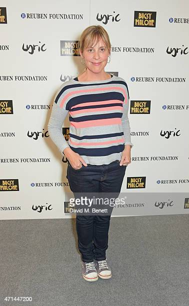 Mel Giedroyc attends the opening of the Lyric Hammersmith's Reuben Foundation Wing and 'Bugsy Malone' at the Lyric Hammersmith on April 28 2015 in...