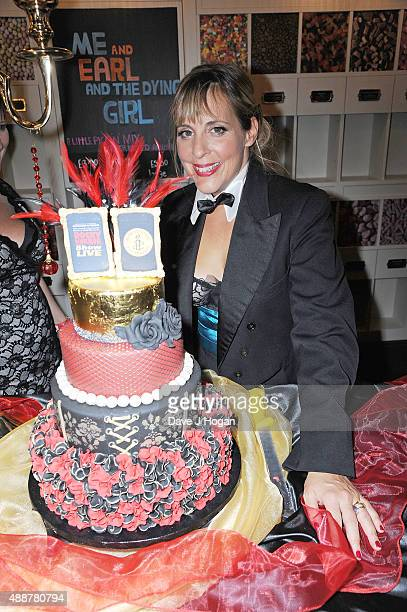 Mel Giedroyc attends the 'Rocky Horror Show' Gala Charity Performance After Party at Picturehouse Central on September 17 2015 in London England