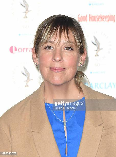Mel Giedroyc attends the Women of the Year lunch and awards at InterContinental Park Lane Hotel on October 19 2015 in London England