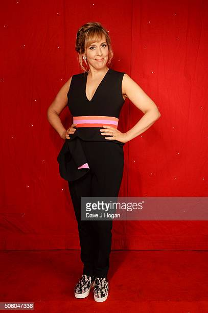Mel Giedroyc backstage at the Strictly Come Dancing Live Tour rehearsals Strictly Come Dancing Live Tour opens tomorrow 22nd January at the...