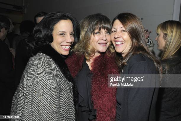 Mel Gorham Patti D'Arbanville and Sally Randall attend 8TH ANNUAL BoCONCEPT/KOLDESIGN HOLIDAY PARTY at BoConcept on December 14 2010 in New York City