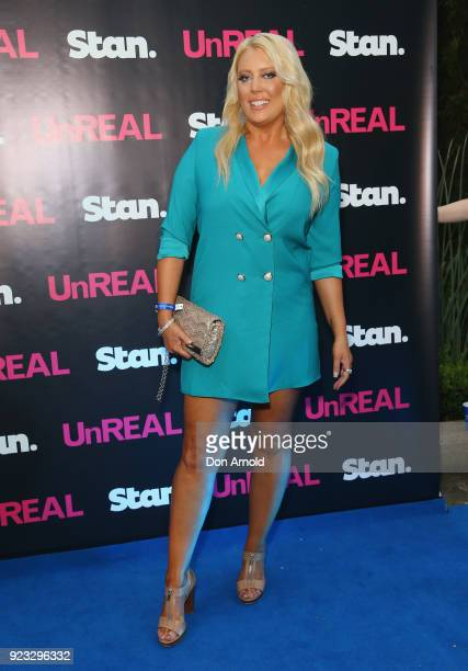 Mel Greig attends the UnREAL Australian Premiere Party on February 23 2018 in Sydney Australia