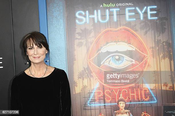 Mel Harris attends the premiere of Hulu's Shut Eye at ArcLight Hollywood on December 1 2016 in Hollywood California