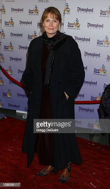 Mel Harris during Snow White An Enchanting New Musical Premiere Arrivals at Fantasyland Theatre at Disneyland in Anaheim California United States