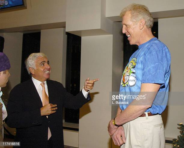 Mel Karmazin CEO of Sirius Satellite Radio and Bill Walton