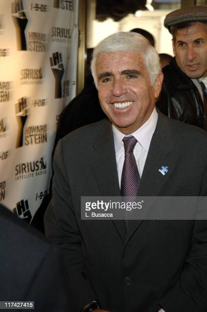 Mel Karmazin CEO of Sirius Satellite Radio during Howard Stern Last Day Live Event Arrivals at Hard Rock Cafe Times Square in New York City New York...