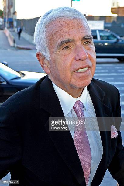 Mel Karmazin chief executive officer of Sirius XM Radio Inc arrives for the Robin Hood Foundation gala in New York US on Monday May 10 2010 The Robin...