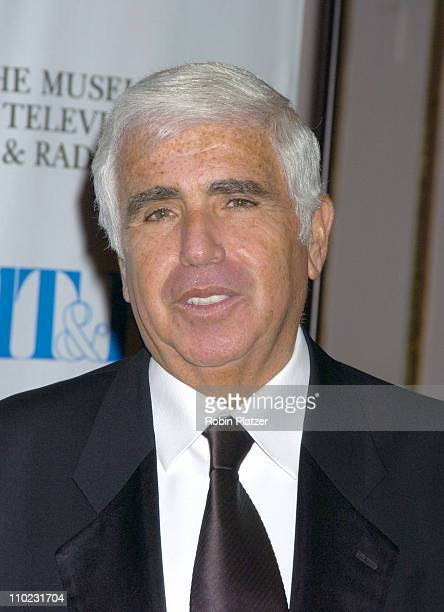 Mel Karmazin during Merv Griffin Honored at the Museum of Television and Radio's Annual Gala at The Waldorf Astoria Hotel in New York City New York...