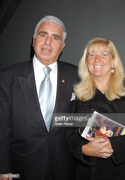 Mel Karmazin wifeTerry during Urban Cowboy the Musical opening night crowd and after party at Marriot Marquis Westside Ballroom in New York NY United...