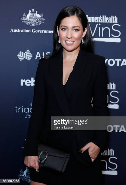 Mel McLaughlin arrives ahead of Women's Health Women In Sport Awards on October 18, 2017 in Sydney, Australia.