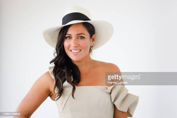 Mel McLaughlin attends Golden Eagle Day at Rosehill Gardens on October 31, 2020 in Sydney, Australia.