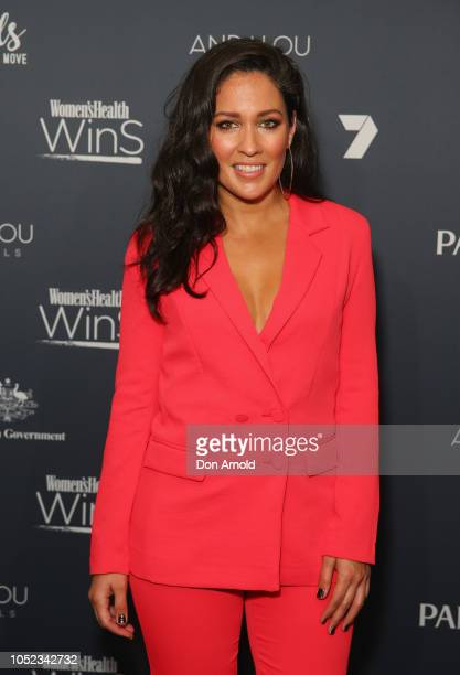 Mel McLaughlin attends the Women's Health Women In Sport Awards at Hordern Pavilion on October 17 2018 in Sydney Australia