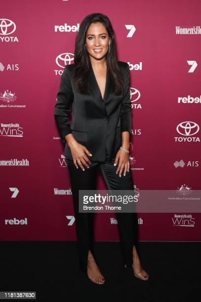 Mel McLaughlin attends the Women's Health 'Women In Sport' Awards on October 16, 2019 in Sydney, Australia.