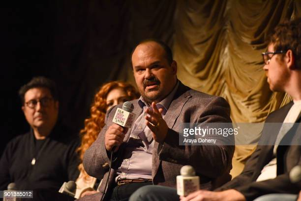 """Mel Rodriguez attends the Film Independent at LACMA presents """"Phillip K. Dick's Electric Dreams"""" at Bing Theater At LACMA on January 4, 2018 in Los..."""