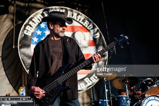 Mel Schacher of Grand Funk Railroad perform on Day 1 of the RBC Royal Bank Bluesfest on July 4 2013 in Ottawa Canada