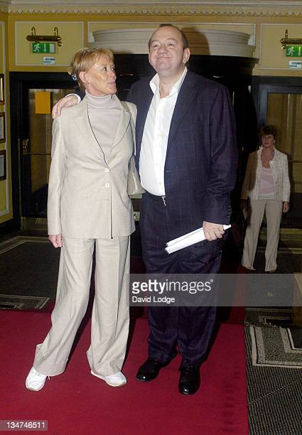 Mel Smith and wife during Make A Wish Foundation Fashion Show and Champagne Reception - Arrivals at The Dorchester Hotel in London, Great Britain.