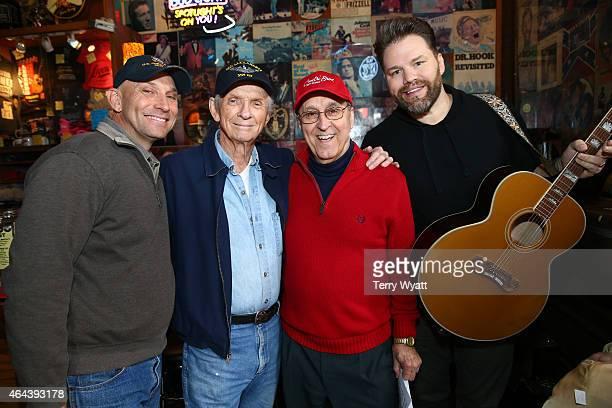 Mel 'Sonny' Tillis Jr Mel Tillis Charlie Monk and James Otto attend The Legend's at Legends' during CRS 2015 on February 25 2015 at the in Nashville...