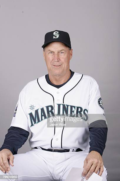 Mel Stottlemyre of the Seattle Mariners poses for a portrait during photo day at Peoria Sports Complex on February 21 2008 in Peoria Arizona